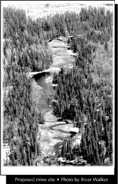 Proposed mine site - Photo by River Walker