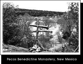 Pecos Benedictine Monastery, New Mexico