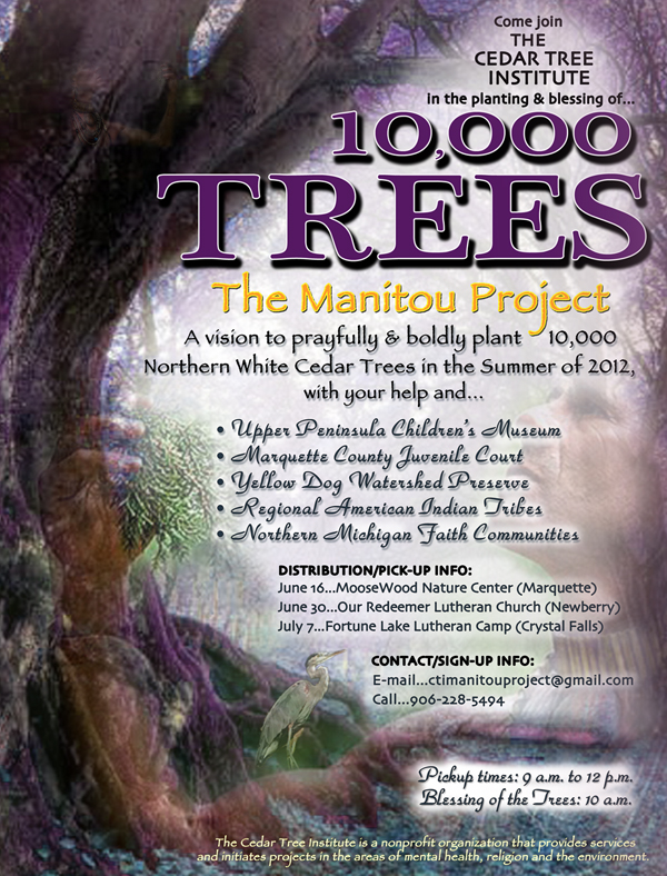 10000 Trees - The Manitou Project