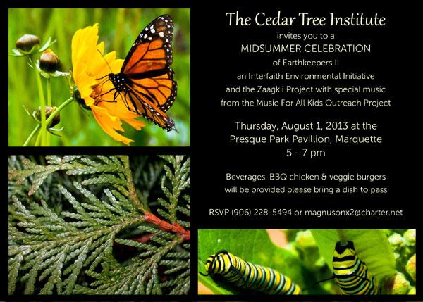2013 Midsummer Celebration Invitation