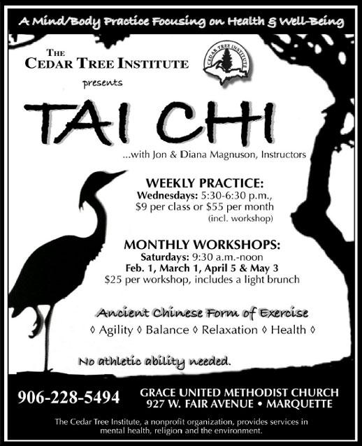 2014 Spring Tai Chi Poster