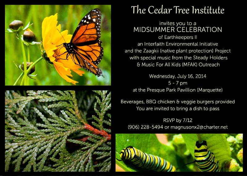 Midsummer Celebration 2014 Invitation