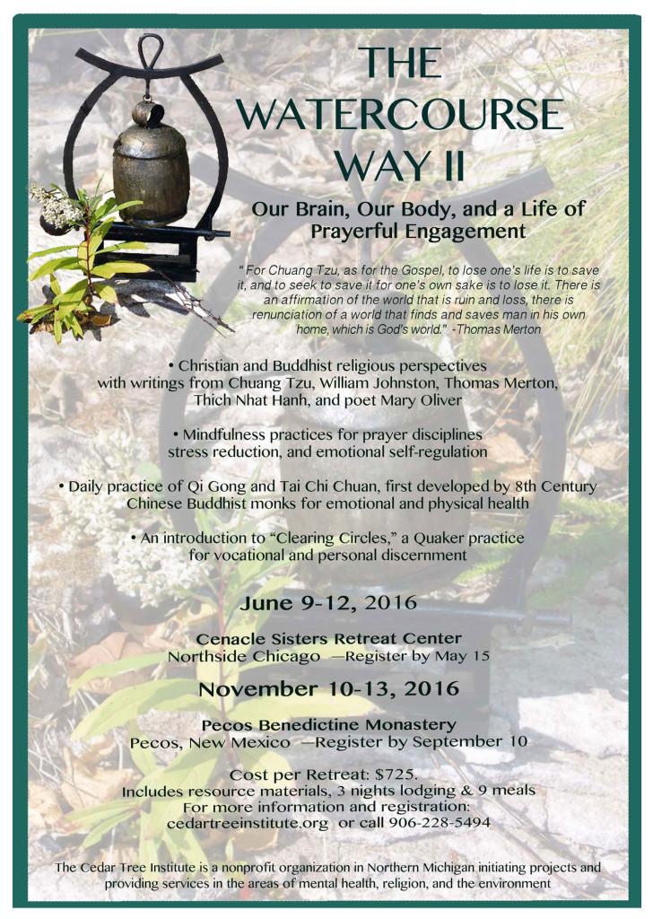 Watercourse Way II Poster