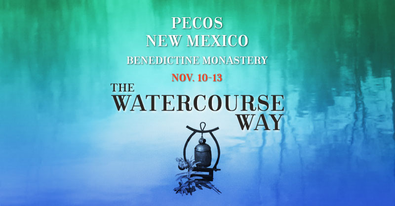 Watercourse Way Retreat at Pecos Benedictine Monastery New Mexico