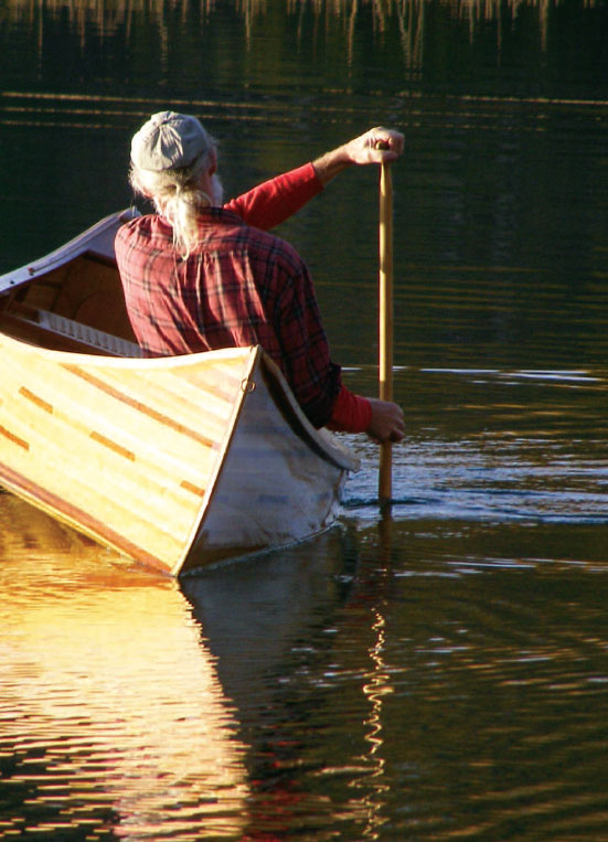 Photo of Cedar Canoe, Handcrafted by Craig Kitchen