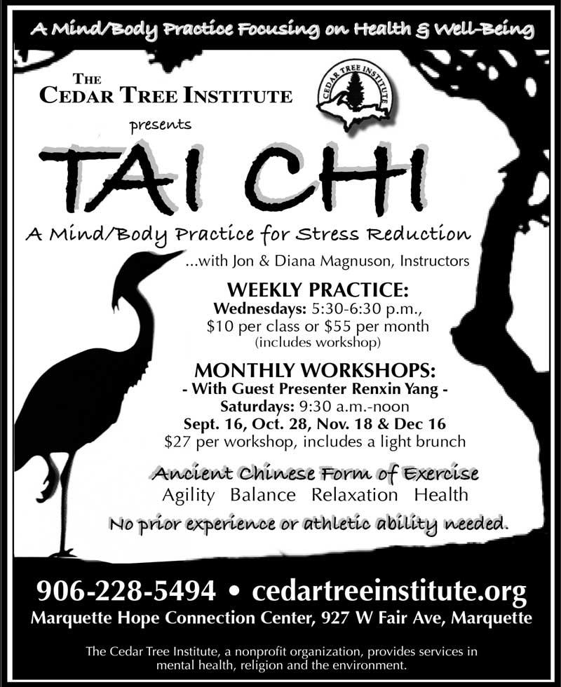 Tai Chi 2017 Schedule
