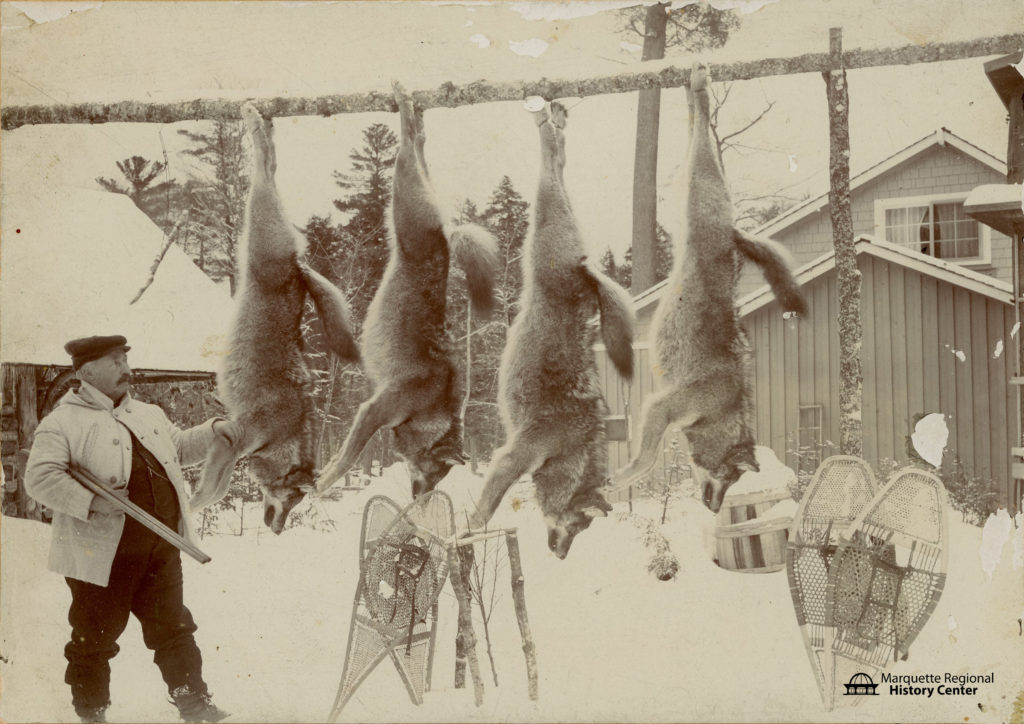 Peter White Hunting Camp 1921