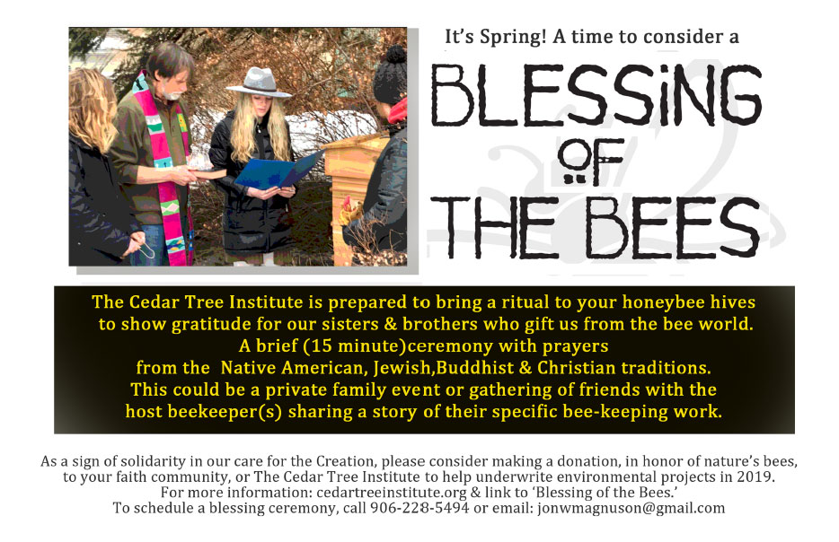 Blessing of the Bees - Cedar Tree Institute